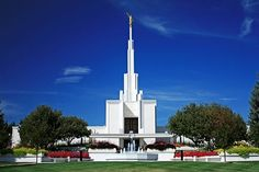Denver Colorado Temple - My wife and I were married here.  I grew up doing baptisms for the dead in here and watching fireworks from the lawn on the 4th of July.  I could see this temple from my front door while living in one house.  My brother received his endowment here.
