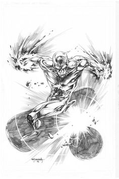 Silver Surfer by Stephen Segovia *