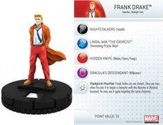 Frank Drake #013a Amazing Spider-Man Marvel Heroclix - Marvel: Amazing Spider-Man - Heroclix