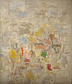 Untitled, by Philip Guston, 1951-1952,oOil on canvas, 40 1/4 by 34 1/4 inches