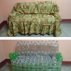 Unbound scholars recycled plastic bottles to make furniture in Guatemala. #green #recycle