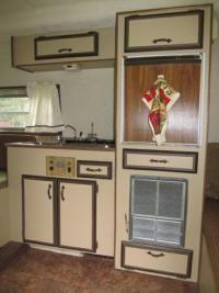 Seagull Surfside kitchen.
