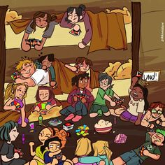Drama Total, Total Drama Island, O Drama, Drama Series, Disney Cartoons, Cover Photos, Adventure Time, Movie Tv, Fanart