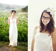 Pump Up Your #Bridal Look with Your #Glasses.