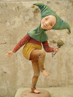 """Коллекционные куклы ручной работы. Ярмарка Мастеров - ручная работа Авторская кукла """"Шутейка"""". Handmade."""