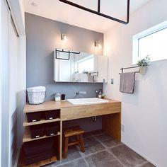 Small Bathroom, Tiny Bathrooms, Bathroom Interior, Vanity, Interior, House Interior, Small Restaurant Design, Room Interior, Bathroom