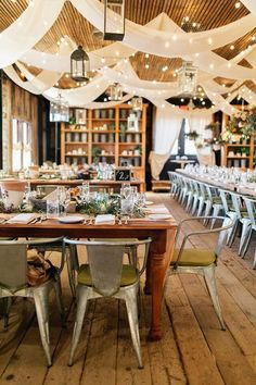 wedding reception chairs - photo by Emily Wren Photography http://ruffledblog.com/bright-spring-wedding-at-terrain