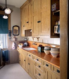Love this farmhouse cupboard (pinned from Down to Earth ...
