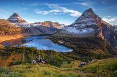 Hidden Lake Overlook, Glacier National Park Montana.