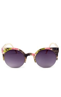 Sole Society - Cateye sunglassess - Kendel - Floral Combo (cannot pull  these off. aaffa73df0cd