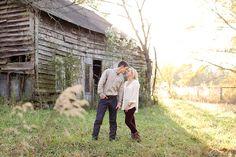 Georgia farm engagement   Allison + Chris