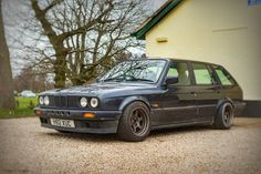 """Love how this #bmw320i #E30 #320i #bmw #touring #e30touring is sitting on #rotagrids #rota. #carporn #carsofinstagram #carculture #carlifestyle…"""