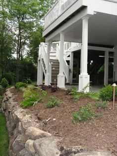 Retaining Wall, Planting Bed, Underdecking, Patio, West Des Moines