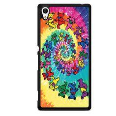 Grateful Dead Spiral Bear Posters TATUM-4804 Sony Phonecase Cover For Xperia Z1, Xperia Z2, Xperia Z3, Xperia Z4, Xperia Z5