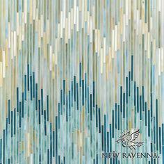 Loom jewel glass mosaic | New Ravenna Mosaics