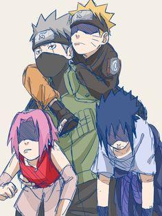 Haruno Sakura || Hatake Kakashi || Uzumaki Naruto || Uchiha Sasuke || Team Kakashi || Naruto Shippuden