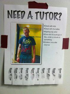 I'd hire him. hahaha
