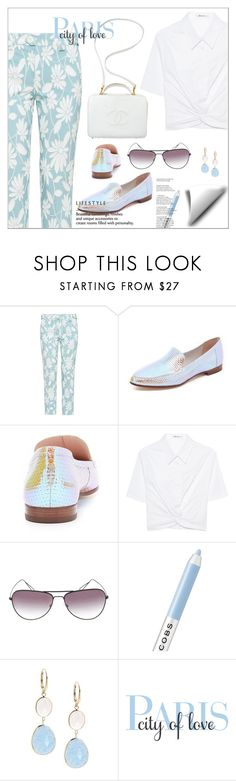 """""""City Of Love"""" by biange ❤ liked on Polyvore featuring Miu Miu, Kate Spade, T By Alexander Wang, Chanel, Isabel Marant, Marc Jacobs, Saks Fifth Avenue and WALL"""
