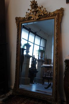 new arrival....antique French mirror