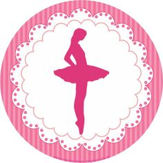 Bailarina kit festa grátis para imprimir |