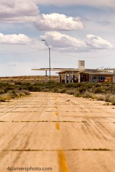 Route 66 and Gas Station, Two Guns, AZ by Troy Montemayor on 500px
