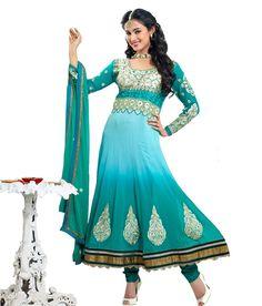 Loved it: Craze N Demand Blue Designer Wear Anarkali Salwar Kameez, http://www.snapdeal.com/product/craze-n-demand-blue-designer/1088135711?vendorCode=49d597&