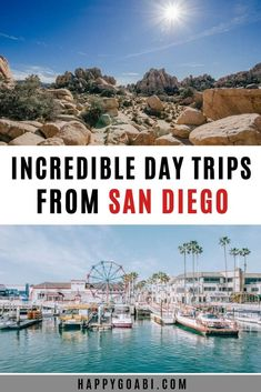 With these incredible day trips from San Diego, you can get out and explore the best this part of Southern California has to offer California Coast, California Travel, Southern California, Ramona California, California Destinations, Usa Travel Guide, Travel Usa, Travel Guides, Luxury Travel