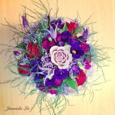 Färgstark brudbukett #wedding #brudbukett