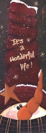 Wonderful Life by Jo Moulton art print