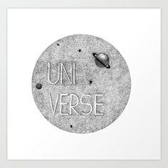 Universe Art Print by StudioSotron - $17.68