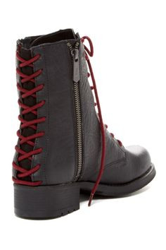 Sam Edelman boots.  Change the red laces for lace ones?