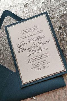 Simplistic Wedding Invitation Inspiration | Wedding Invitations + ...