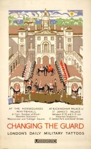 Vintage Changing the Guard poster 1925