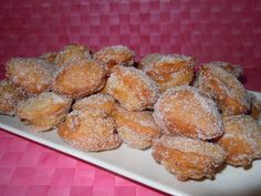 Beignets, Mexican Food Recipes, Sweet Recipes, Blondie Dessert, Bread Recipes, Cooking Recipes, Almond Pastry, Deli Food, Pan Dulce