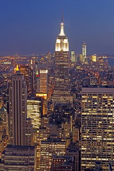 Would love to visit New York City & photograph the skyline at dusk!