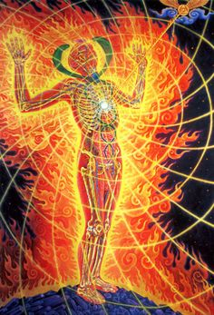 the wounded healer - alex grey