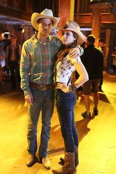 Keegan Allen (Toby Cavanaugh) & Troian Bellisario (Spencer Hastings) - Pretty Little Liars