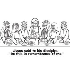 Free Jesus coloring picture