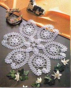 Crochet y dos agujas: Carpetas