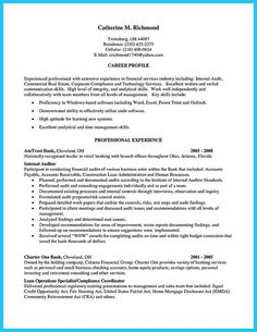 It Auditor Resume Endearing Curriculum Sample Vitae Cv Template  Cv And Resume Examples .