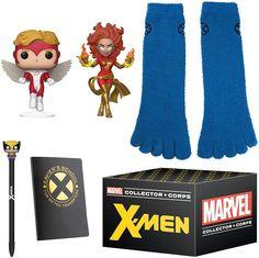 Marvel Comics, Marvel Xmen, Marvel Collector Corps, The Collector, Jean Grey, Dark Phoenix, Wolverine, Funko Pop Deadpool, X Men