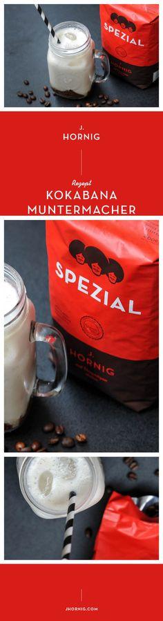 Heute gibt's den #Kokabana-Muntermacher, ein Mix aus #Kaffee, #Kokos, #Banane und #Chia-Samen. Zubereitet von Verena von Aundast Gsund. Ganz einfach nachzumachen. :) #kaffee #coffee Granita, Blog, Tableware, Biscuits, Round Round, Kuchen, Simple, Dinnerware, Dishes