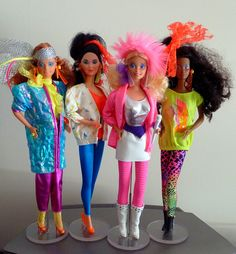 Barbie and the Rockers. I LOVED them! I had the coloring book too, which I never let anyone else touch!