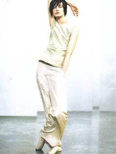 Donna Karan S/S 1999. Photo: Peter Lindbergh.