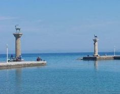 Rhodes Town In Greece Stag And Doe, Cn Tower, Statue Of Liberty, Tourism, To Go, Island, Greece Rhodes, Building, Places