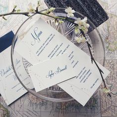 Our Nerine stationery suite: whimsical elegant and printed by hand. by tinycardcompany