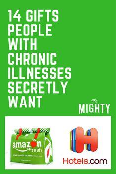 14 Gifts People With Chronic Illnesses Secretly Wa… Chronic Fatigue, Chronic Pain, Fibromyalgia, Chronic Illness Quotes, Mental Illness, Ulcerative Colitis, Hypothyroidism, Rheumatoid Arthritis, Severe Back Pain