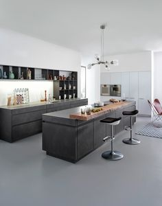 Minimalist Kitchen Ideas Beautiful Simple and Minimalism Styled. Browse photos of Minimalist Kitchen. Find ideas and inspiration for Minimalist Kitchen to add to your own home. Home Decor Kitchen, Kitchen Interior, Home Kitchens, Kitchen Ideas, Kitchen Store, Diy Kitchen, Kitchen Planning, Kitchen Layouts, Rustic Kitchen