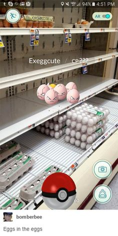 pokemon go funny eggs