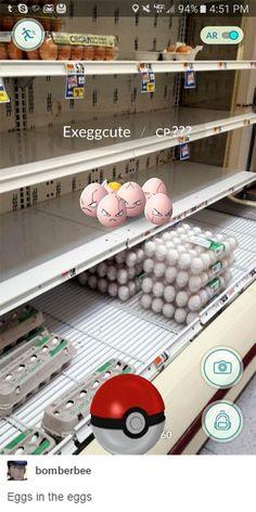 pokemon go funny eggs